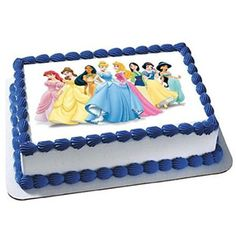 Sophia the First Cake Cupcake Edible Sheet Image Birthday Party Favor ManySizes Disney Princess Birthday Cakes, Disney Themed Cakes, Disney Cakes, Frozen Birthday, Birthday Party Snacks, 3rd Birthday Cakes, Birthday Ideas, Kids Cooking Party, Princess Cake Toppers