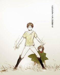 Eren and Mikasa   SnK