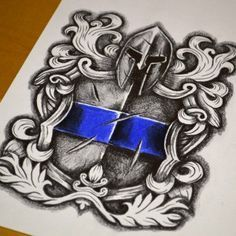 st. michael police tattoo - Google Search