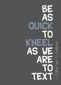 ALWAYS take it to God...