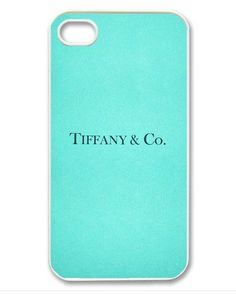 iPhone 4 case iPhone 4s case - Tiffany & Co. Blue Box Design iPhone Hard Case-graphic Iphone case  I want!!! Wish list....