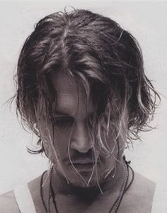 Johnny Depp. Sigh...I just want to push his hair back from his face