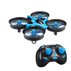 RC QuadcoptersMindKoo JJRC H36 Mini 24GHz 4CH 6 Axis Gyro RC Quadcopter with Headless Mode  Speed Switch RTF OneKey ReturnBlue * Find out more about the great product at the image link.Note:It is affiliate link to Amazon.