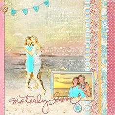 Ideas for Dimension on Scrapbook Pages | Scrapbook Page by Deborah Wagner | GetItScrapped.com/blog