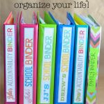 Cant Keep Up? Use binders to help organize your life! www.thirtyhandmadedays.com - May have some good ideas to add to my HMB or some new binders to create : ) So far I like the way she organizes her templates too!