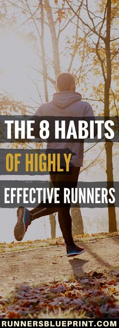 If you want to become the best runner you can be—whether it's beating a personal record, tackling a new distance or losing the extra pounds for good—then one of the best things you can do is to cultivate the habits of successful and effective runners.