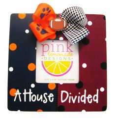 A House Divided Wood Handpainted Picture by APinkLemonadeDesigns, $18.00