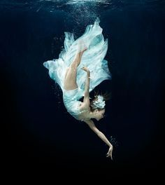 "kafkasapartment: "" An underwater reimagining of the ballet A Midsummer Night's Dream, photographed by Alberto Oviedo for the Miami City Ballet. """