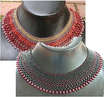 Chevron Collar by Holle Randy