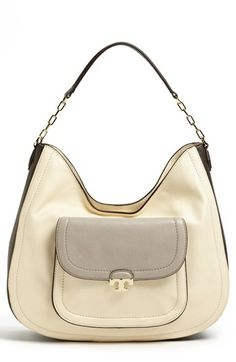 """Tory Burch 'Sammy' Hobo,This is my purse!!  Hey, I had to have it cause it is called """"Sammy""""... LOL LOL LOL LOL"""