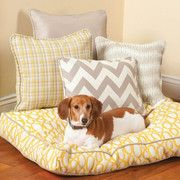 Sew a large dog bed free pattern