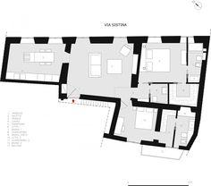 Via Sistina Apartment by Serena Romanò (26)   HomeDSGN