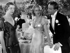Top Hat - 1935 - Helen Broderick, Ginger Rogers & Fred Astaire