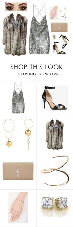 """""""bougie f***er"""" by lavenderblush ❤ liked on Polyvore featuring Marc Jacobs, Michael Kors, Mounser, Yves Saint Laurent, Charlotte Chesnais and Eva Fehren"""