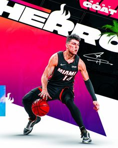 Mvp Basketball, Nba Pictures, Sports Graphic Design, Nba Wallpapers, Sports Graphics, Baby Goats, Sports Art, Nba Players, Miami Heat