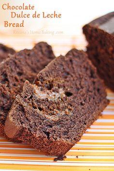 Chocolate Dulce de Leche Bread by RoxanaGreenGirl | Roxana's Home Baking, via Flickr