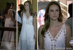 Looks de Paloma e Aline na vernissage do Ninho na novela Amor à Vida