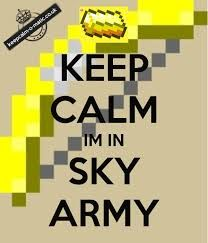 im in the sky army, are u?