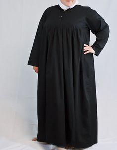 Beautiful Flowing Black Abaya