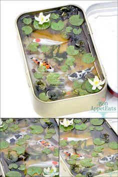 Large Altoids Tin Koi Pond by Bon-AppetEats