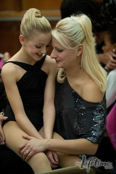 #dancemoms  I am crazy about the show dance moms, these little girls are so crazy talented!!  My fave is Chloe, she is stunning.  This is Chloe with her mom Christie.