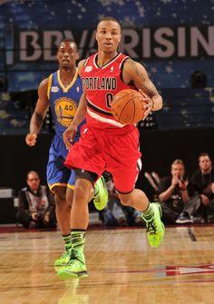 313db1bd8d5 Damian Lillard wearing adidas Crazy Fast All-Star Damian Lillard