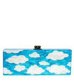 Edie Parker Flavia Cloud Clutch - Box Clutch - ShopBAZAAR