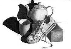 still life drawing - Google 搜尋 Still Life Pencil Shading, Easy Still Life Drawing, Still Life Sketch, Pencil Drawings Of Love, Pencil Drawings Of Animals, Graphite Drawings, Realistic Drawings, Pencil Colour Painting, Charcole Drawings