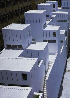architectural grammar: Space Block Hanoi by Kazuhiro Kojima