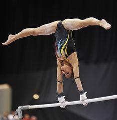 Photo by thegallaghers Gymnastics Facts, Gymnastics Images, Sport Gymnastics, Artistic Gymnastics, Olympic Gymnastics, Rhythmic Gymnastics, Gymnastics Problems, Foto Sport, Gymnastics Flexibility