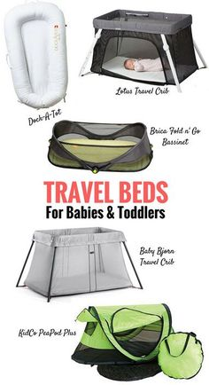 7dfa48d5b0a The Best Portable Travel Beds for Babies and Toddlers