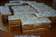 m.bucataras.ro Romanian Desserts, Romanian Food, Sweets Recipes, Cooking Recipes, Homemade Cakes, Cake Decorating, Bakery, Sweet Treats, Good Food
