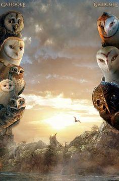 Legend of the guardians: the owls of ga'hoole key art Avatar Costumes, Bird Artwork, Keys Art, Beautiful Owl, Owl Art, Fantastic Art, Mythical Creatures, Great Artists, Cool Animations