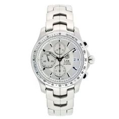 Buy TAG Heuer Men's CJF2111.BA0594 Link Automatic Chronograph Watch
