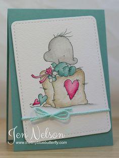 The Tiny Blue Butterfly: Baby Heart... LOTV Sneak Peek!!
