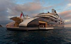 Il megayacht Serene di Fincantieri #yacht #fincantieri #serene