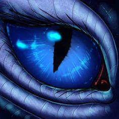 Eye-Con Comish - Metallic Lashes by TwilightSaint