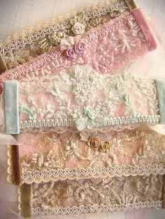 Embroidery Jewelry, Facebook, Lace