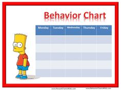 "... Free Printable Weekly Smiley Face Behavior Charts"" – Calendar 2015"