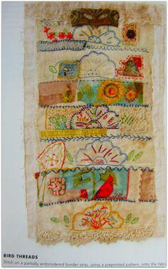 Bird threads by Beth Leintz -- great colors and fun motifs