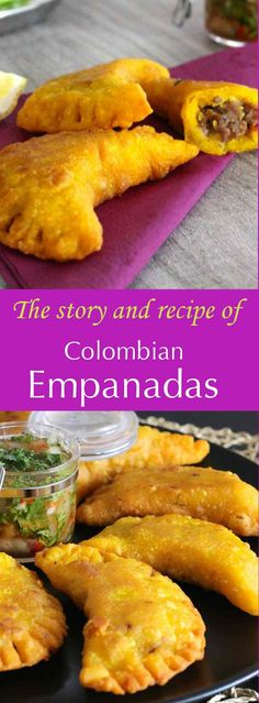 turnovers filled with Spanish and South American origin that are stuffed differently in different countries and regions.are turnovers filled with Spanish and South American origin that are stuffed differently in different countries and regions. Comida Latina, Columbian Recipes, Latin American Food, South American Dishes, American Dinner, Colombian Food, Colombian Drinks, Colombian Arepas, My Colombian Recipes