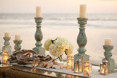 Set the scene for a beachside soiree.