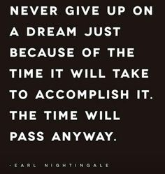 Life can get frustrating...don't give up!