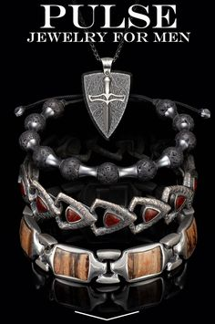 The coolest and most exclusive jewelry for men. #mensjewelry #iamwilliamhenry