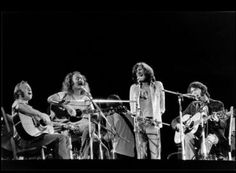 crosby, stills, nash & young. saw them all together. also saw crosby & nash several times together; neil young alone; steven stills alone.