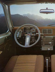 Citroen single spoke steering wheel.
