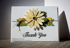I've been wanting to use the new Daisy Delight set from the new 2017-2018 Stampin' Up! annual catalog. I thought the Fab Friday  challenge h...