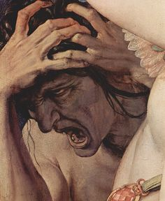 Allegory of the Triumph of Venus (1540-45) [detail] Angelo Bronzino (1503-1572).