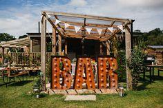Outdoor Humanist Ceremony | Festival Wedding | Rustic Tipi Reception | Talton Lodge | Bouncy Castle | John Hope Photography | http://www.rockmywedding.co.uk/nicola-alex/