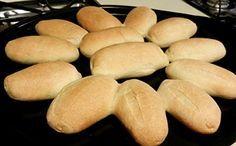 Receita de pão francês com água e sal para a fase ataque dukan.